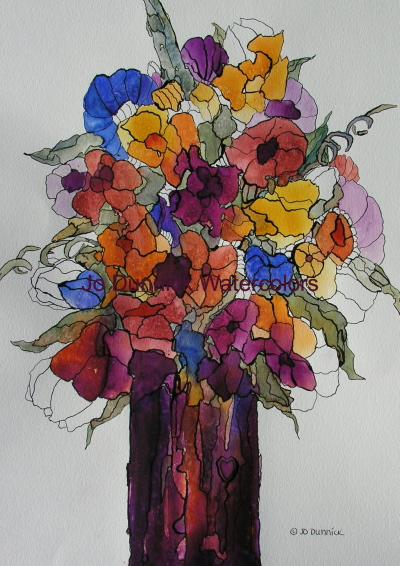 Bouquet of Beautiful Colors